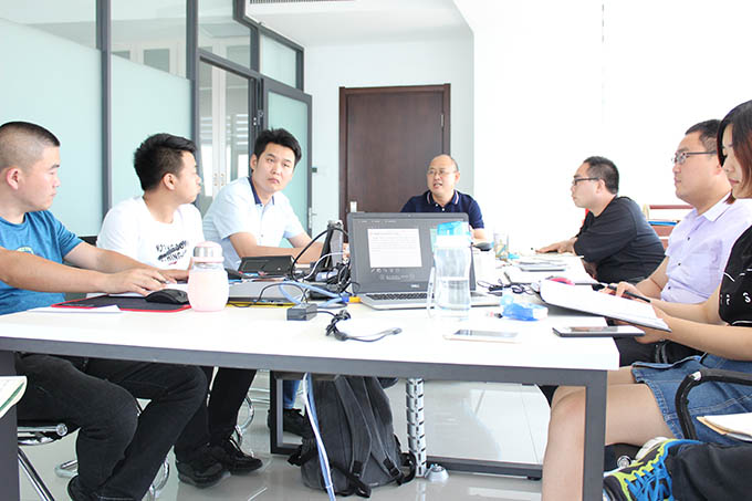 The meeting training of Yinfeng